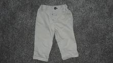 Plátěné kalhoty, nutmeg,56
