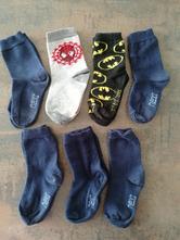 7 párů ponožky next a h&m, vel. 23-26, next,23