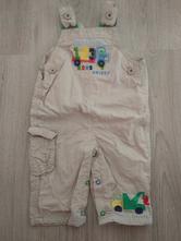 Plátěné kalhoty m&s s náklaďákem, marks & spencer,68