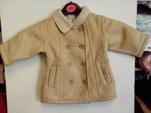 Dívčí kabát s beránkem č.567, gap,74