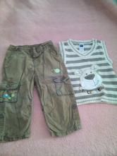 Lehké kalhoty + vesta,