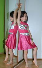 Karnevalové šaty barbie,