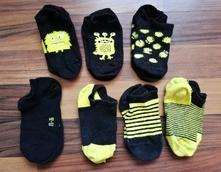 Kotníkové ponožky 23-26, lupilu,23