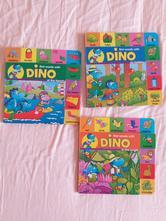 Angličtina pro děti 3 knížky first words with dino,