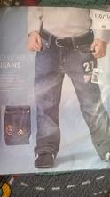 Fotbalové džíny - nevybalené, 110