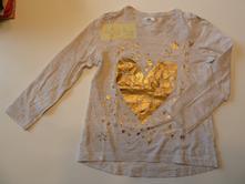 Triko se zlatým srdíčkem, pepco,122