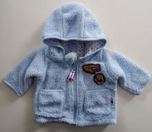 Flísový kabátek / mikinka podšitá bavlnou, disney,50
