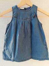 Džínové šaty, lindex,80