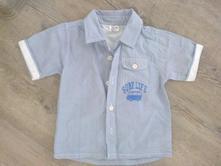 Košile proužek s potiskem, kik,86