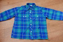 Flanelová košile, c&a,110