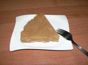 SVAČINA: nepečený jablčený koláč s grahamkama