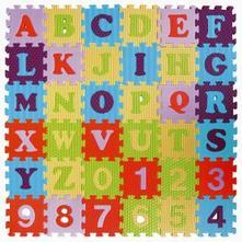 Pěnové puzzle abeceda a čísla,