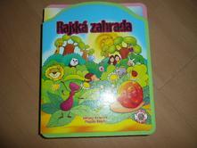 Knížka s puzzle omyvatelná rajská zahrada,