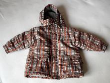 Teplá, slušivá zimní bunda / bundička, 86
