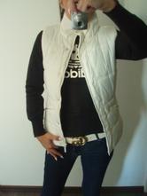 Bílá vesta adidas, adidas,m