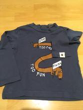 Dětské triko s dlouhým rukávem, zara,86