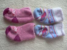 Novorozenecké ponožky froté, 2ks,