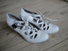 Bílé svatební boty, 39