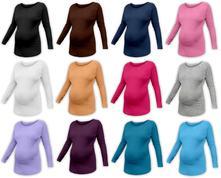 Těhotenské tričko s netopýřími rukávy nikola, l / m / s / xl
