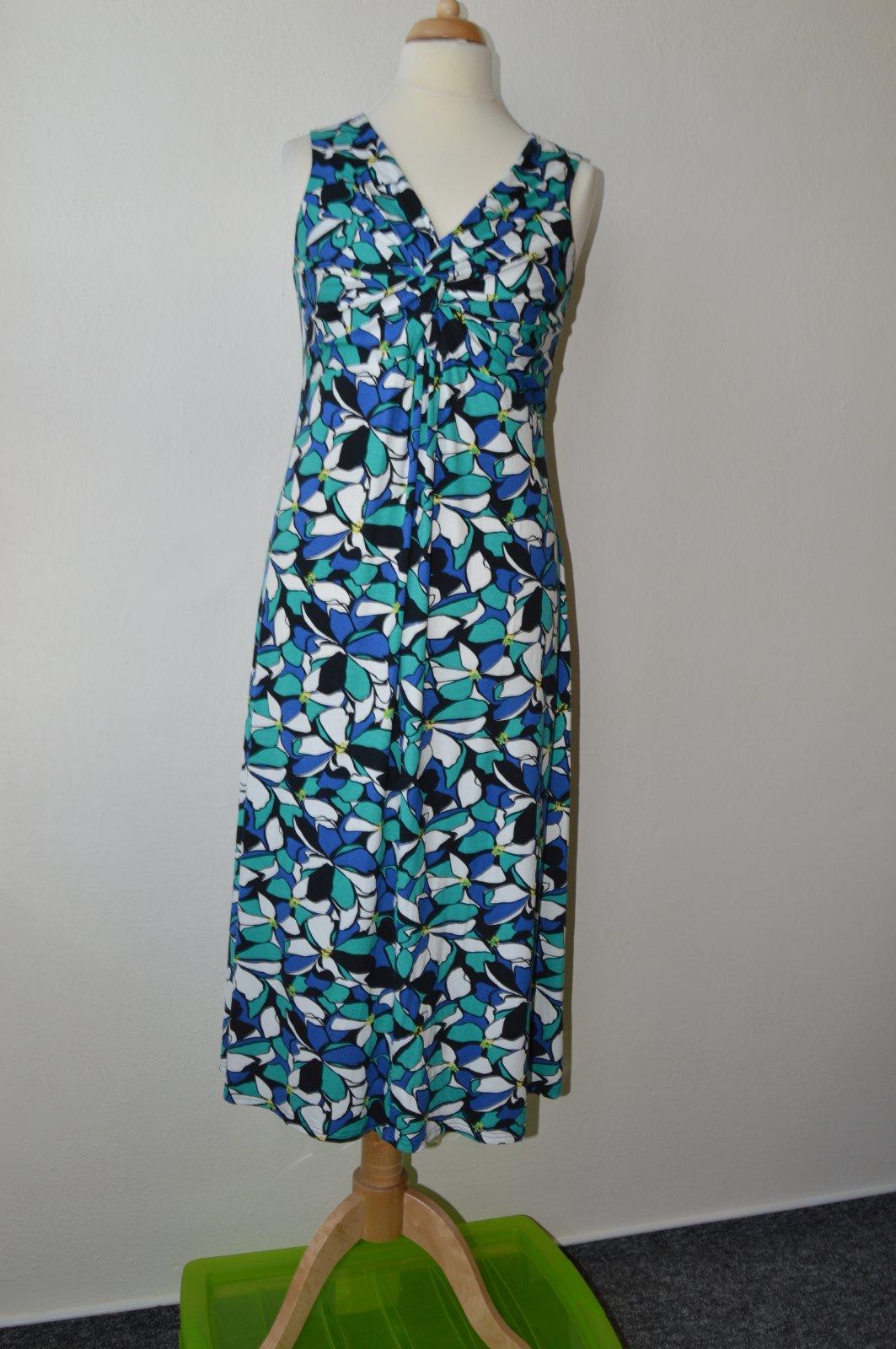 Dámské vzorované letní šaty david emanuel c702602b1a