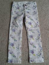 Květované kalhoty, h&m,116