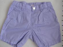 Bavlněné šortky,kraťasy, h&m,110