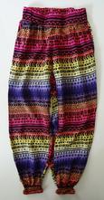 Letní lehké kalhoty / harémky, 128