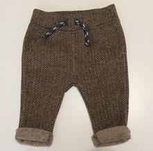 Kalhoty se zateplovacím chloupkem, nutmeg,62
