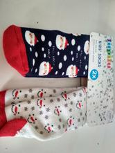 Teplejší ponožky vánoční motiv, lupilu,23