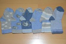 6 párů ponožek pro chlapečka, 74, 80, 80/86, 74