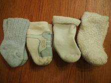 Teplé ponožky pro novorozence, 17