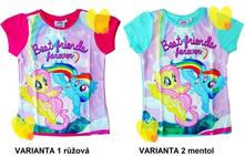 Tričko my little pony, disney,98 - 128