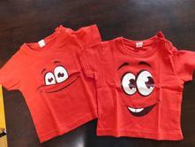 2x dvojčecí tričko, 74