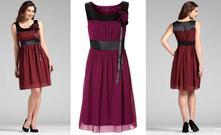 Nové ostružinové šaty z bonprixu, vel 38, bonprix,38