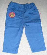 Modré kalhoty vel. 74, 74