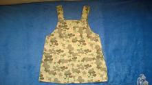 Šaty, šatová sukně s laclem, top stav, vel. 86, marks & spencer,86