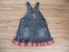 Džínová laclová sukně, next,92