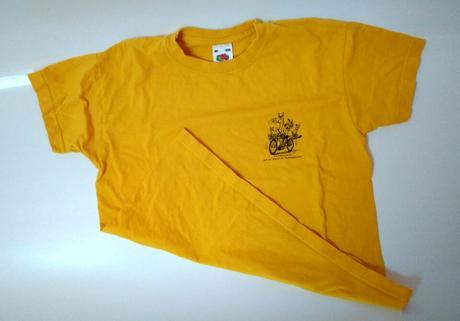 S66 - žluté tričko , 128