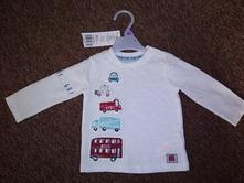 Nové krásné triko, f&f,68