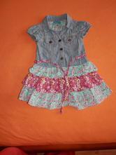 Šaty velikost 86-92, topolino,86