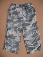 Plátěné roll up kalhoty, next,98