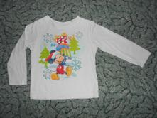 """Tričko """"vánoční mickey"""", disney,92"""