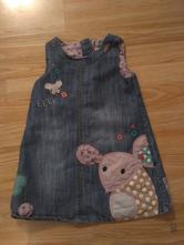 Laclové šaty s myškou, next,98