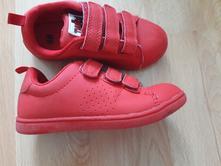 Červené botky h&m, velikost 27, h&m,27