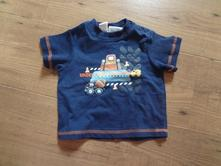 Modré tričko s potiskem baby, baby,74