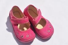Dívčí boty střevíce  č.175, befado,19