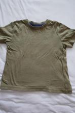 Hnědozelené tričko, f&f,104