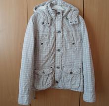 Bílá béžová bunda bundička kabátek fishbone, fishbone,m