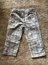 Kárované podšité kalhoty, dopodopo,98