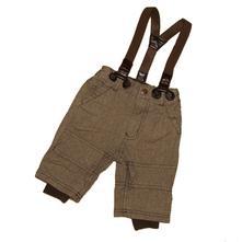 Podšité kalhoty se šráky h&m vel.62 (2-4měsíce), h&m,62